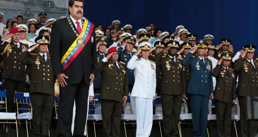 Nicolas Maduro Venezuela military