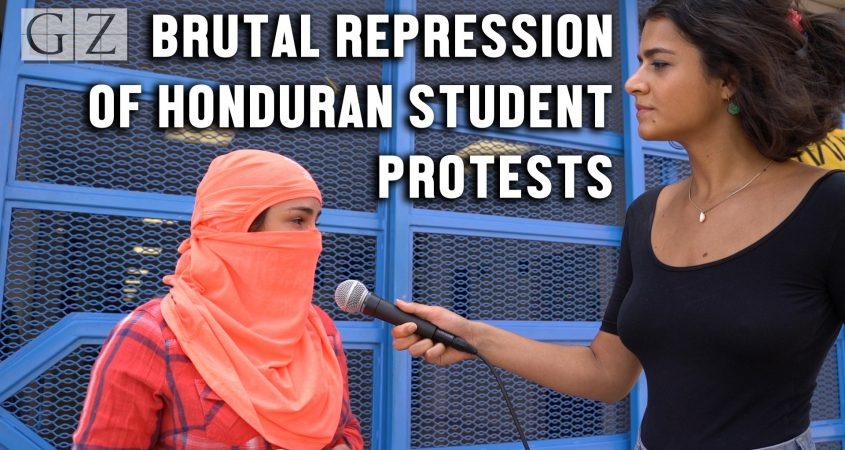 UNAH student occupation privatization