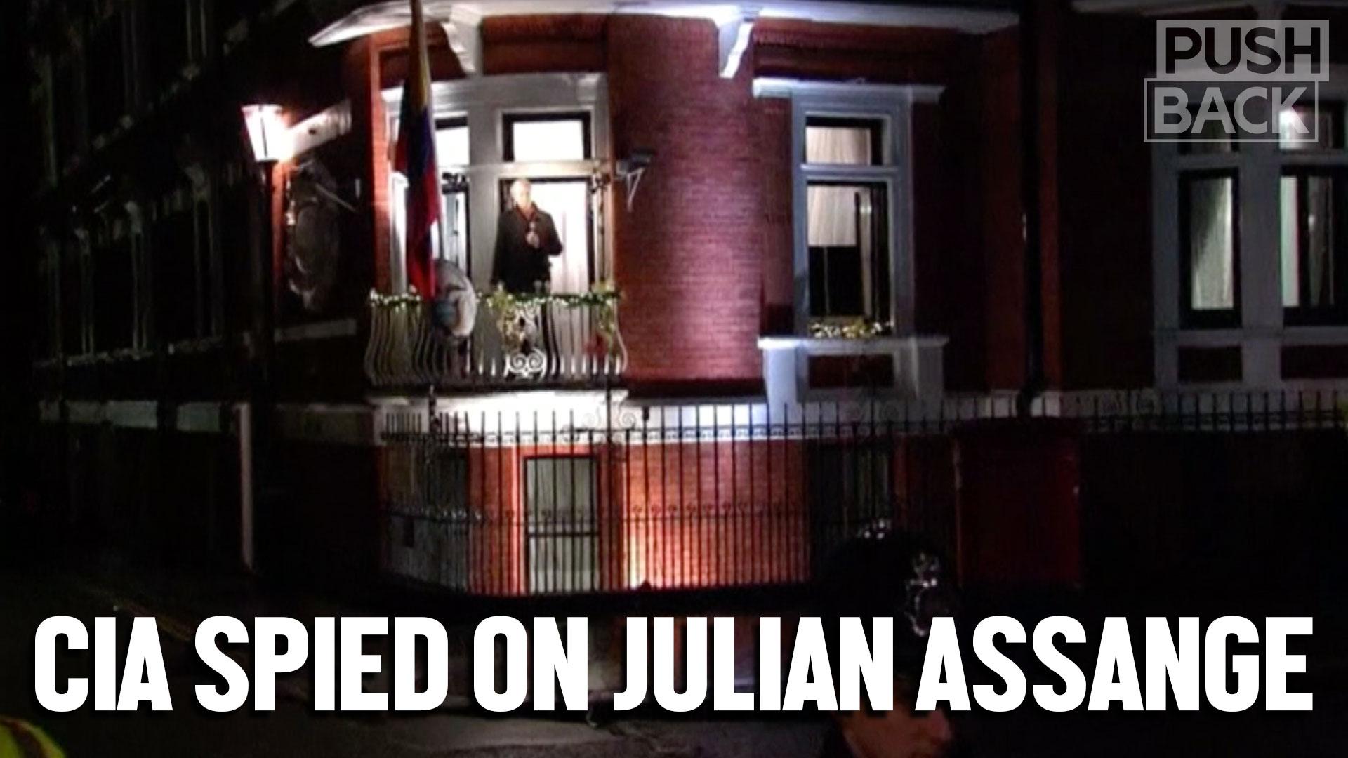 CIA spied on Julian Assange 24/7 in Ecuadorian embassy