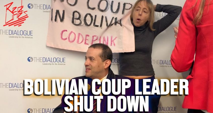 Bolivian coup leader Camacho Washington DC protest