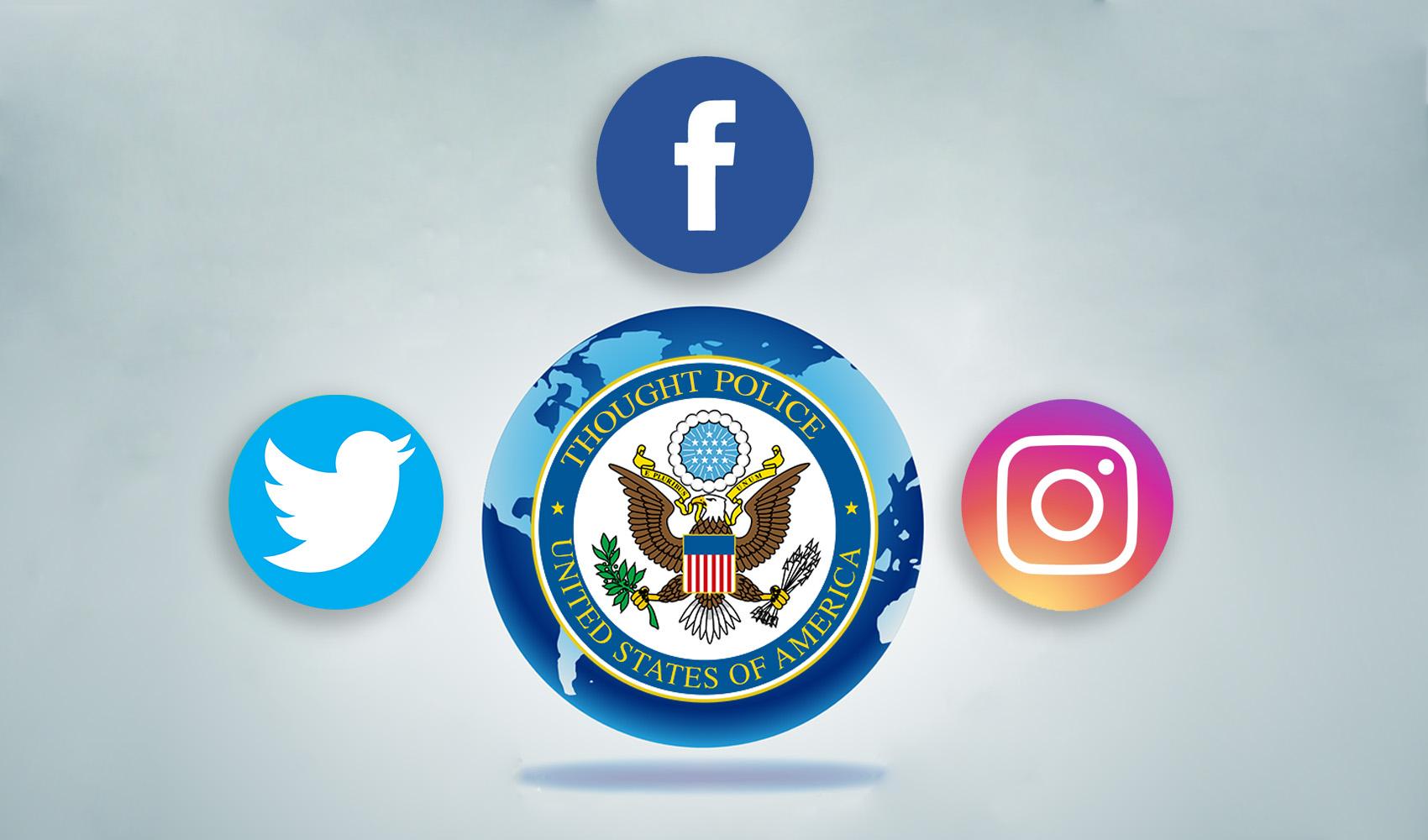 social media US government censorship suspensions