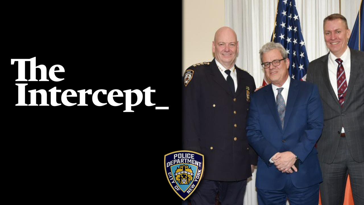 The Intercept Richard Esposito NYPD