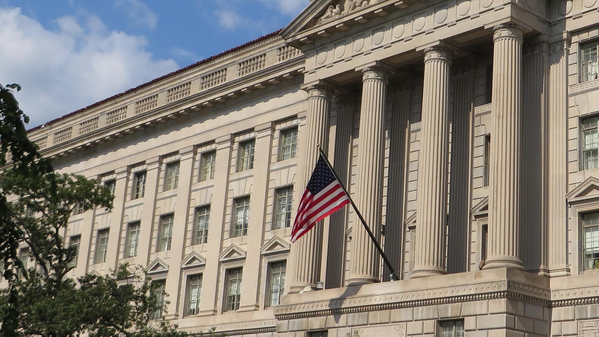 US Commerce Department sanctions